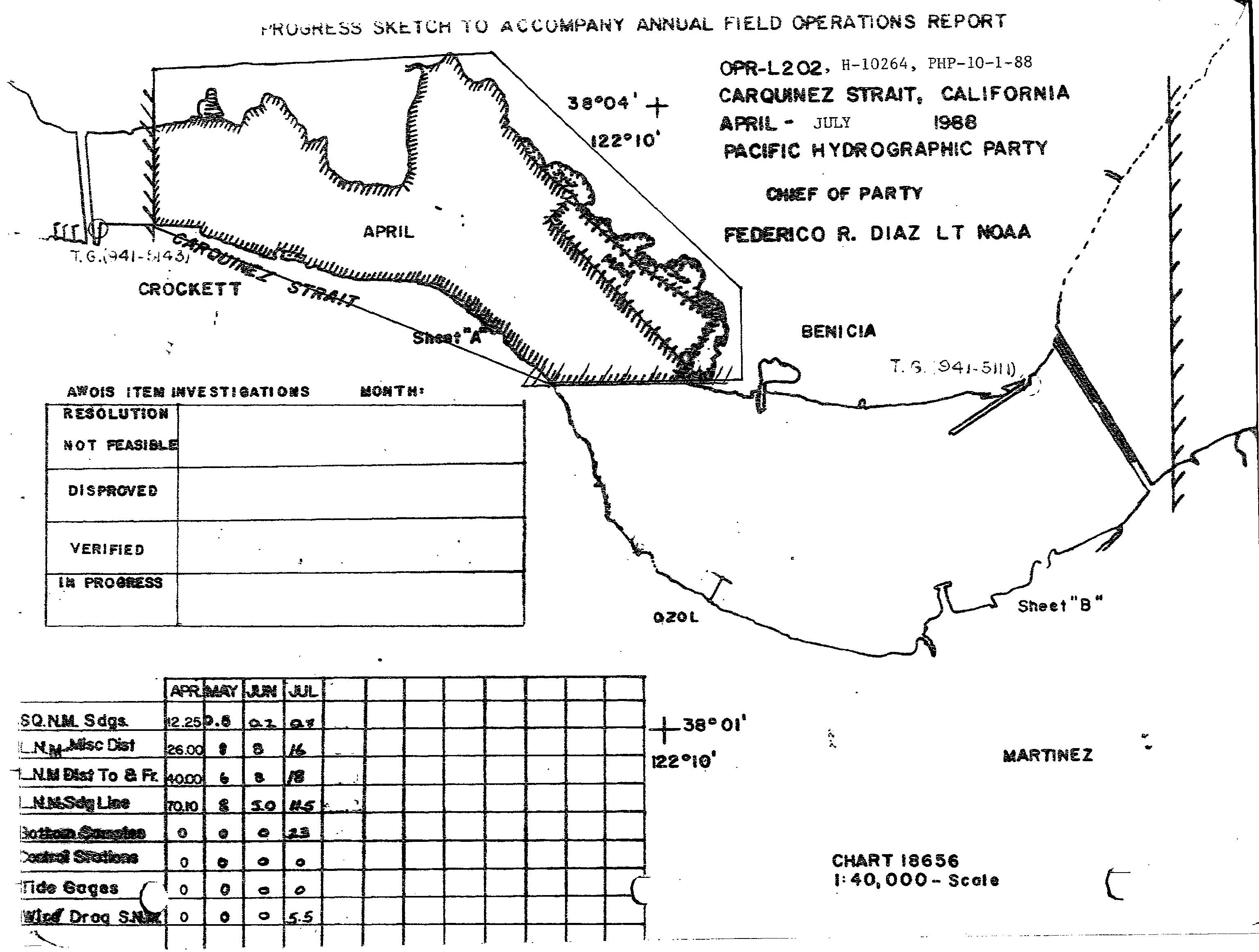 H10264 nos hydrographic survey sacramento river california 1988 graphic preview geenschuldenfo Image collections
