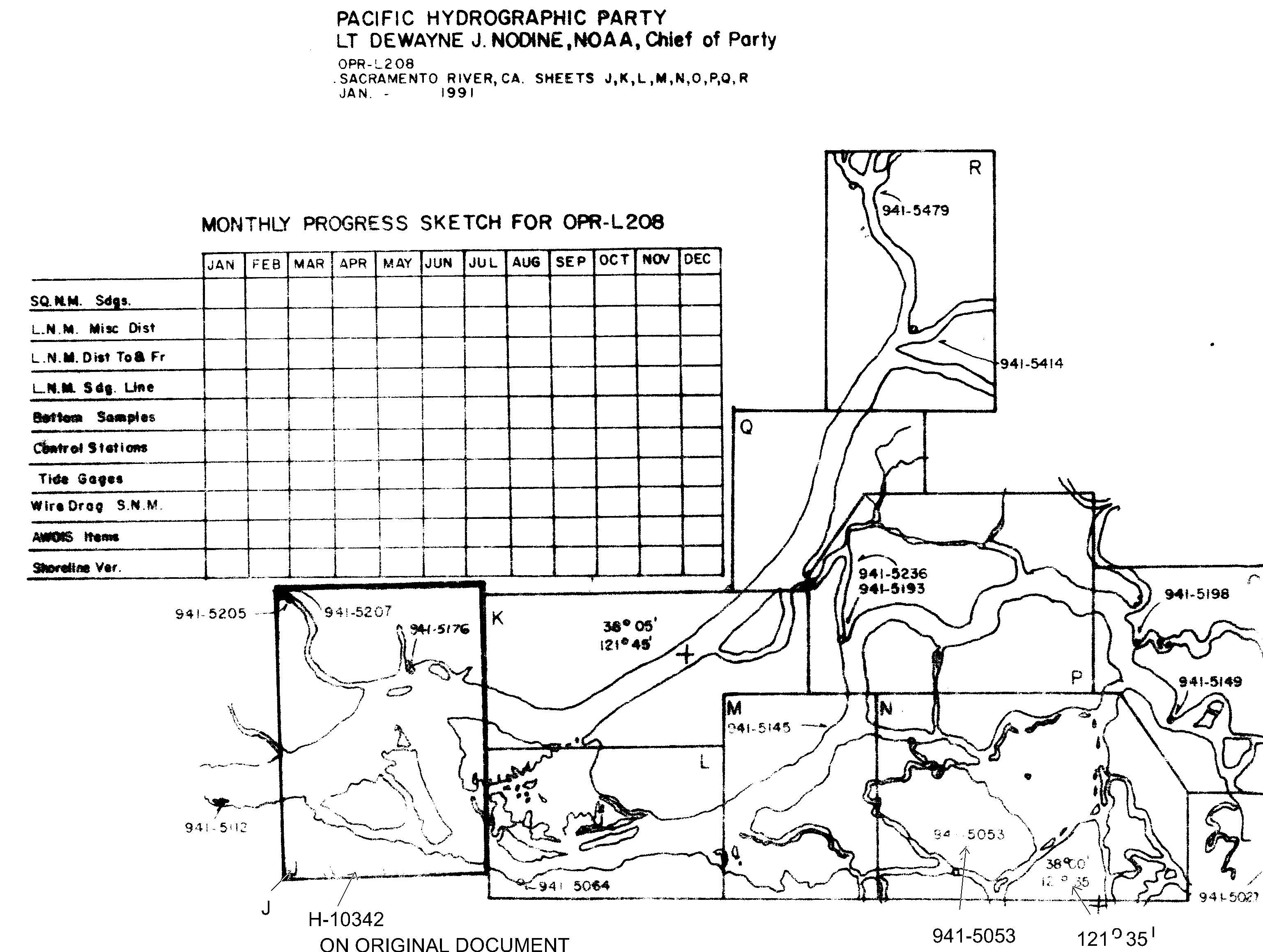 H10342 nos hydrographic survey sacramento river californnia graphic preview geenschuldenfo Image collections