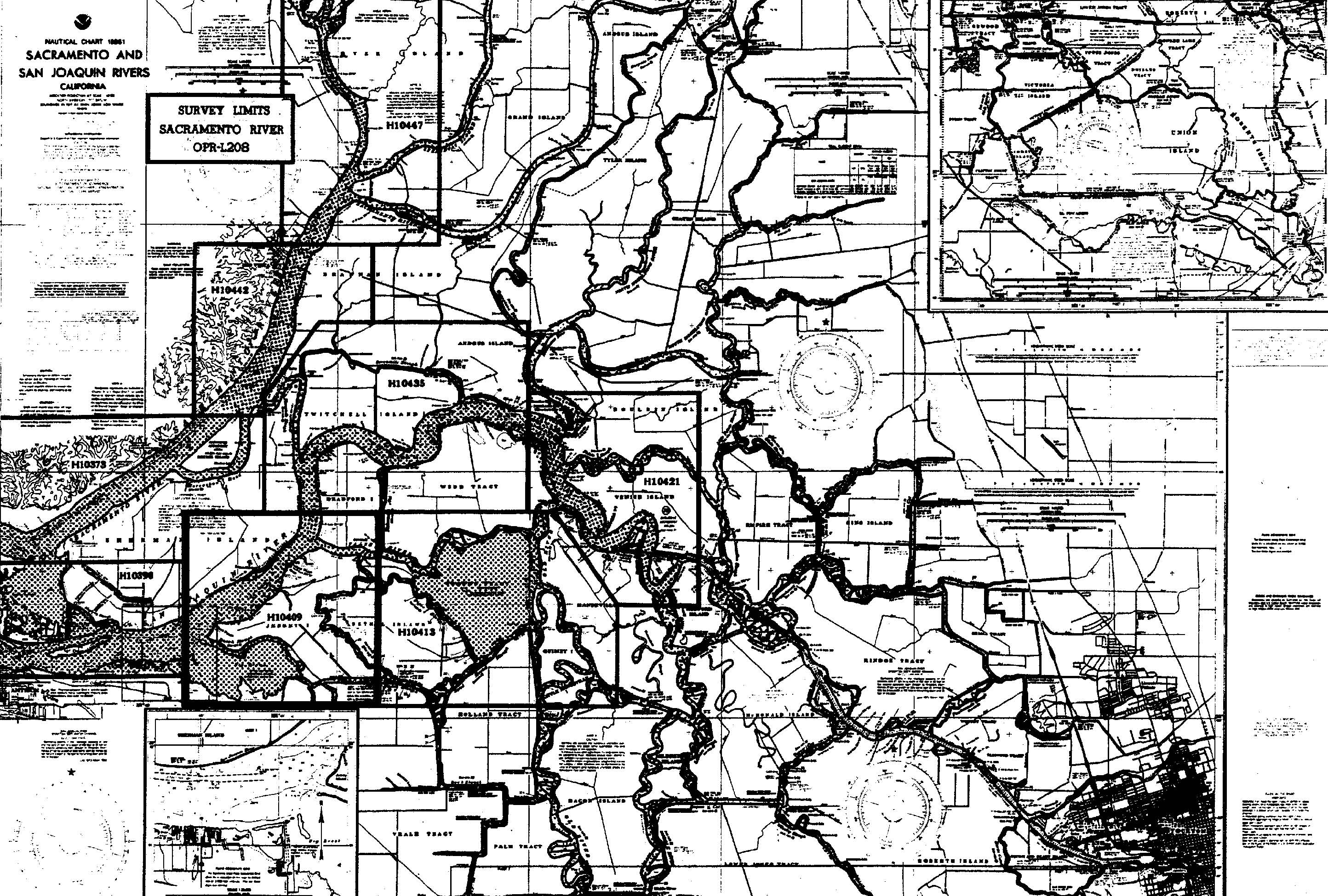 H10409 nos hydrographic survey sacramento river california 1991 project sketch in jpeg format geenschuldenfo Image collections