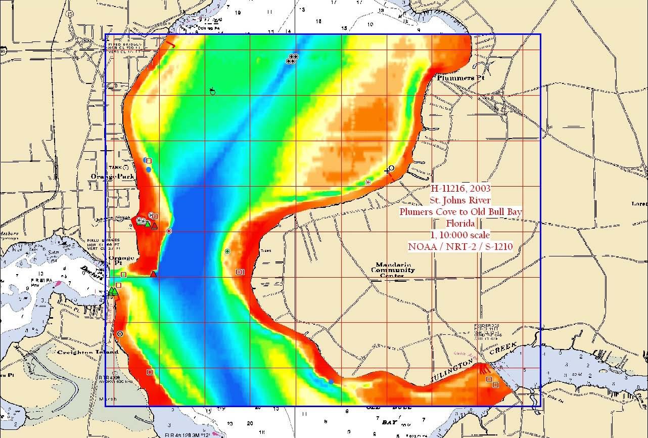 H11216: NOS Hydrographic Survey , Brunswick, Georgia to