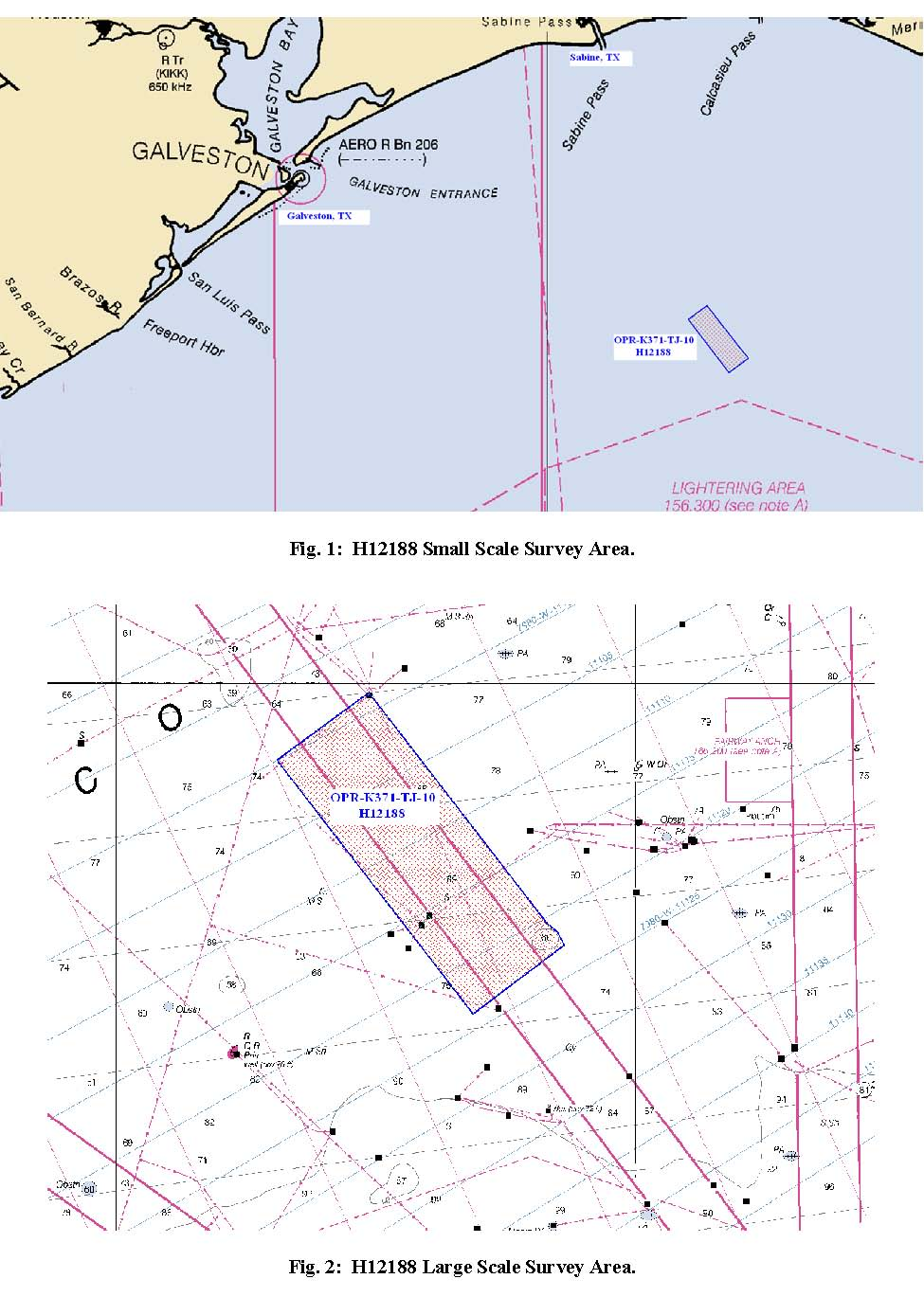 H12188 Nos Hydrographic Survey Cameron Louisiana To Sabine