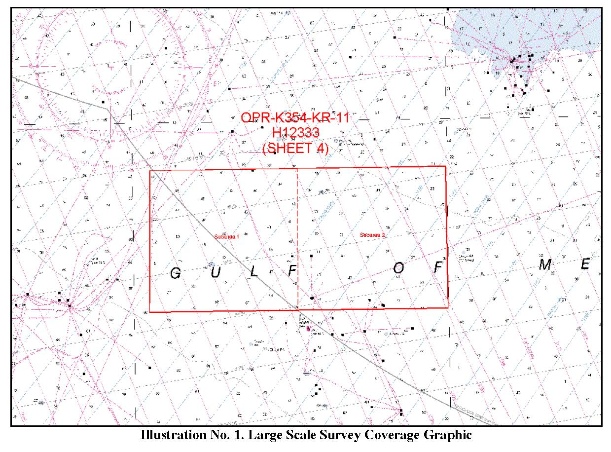 H12333 Nos Hydrographic Survey Louisiana Coast Louisiana 2011