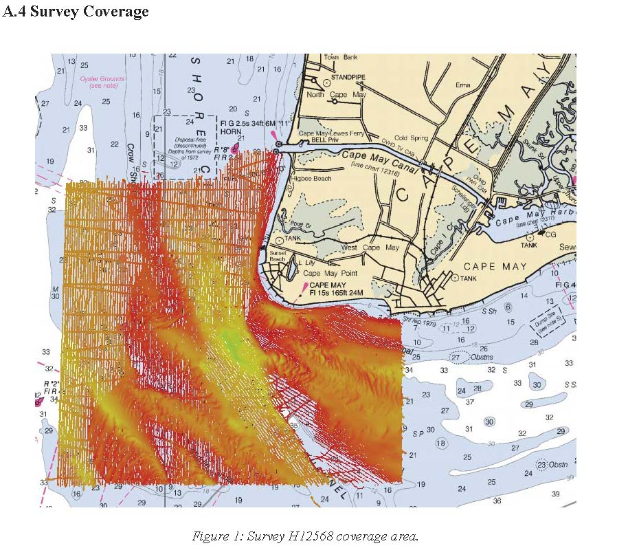 H12568 Nos Hydrographic Survey Delaware Bay And Approaches 2013